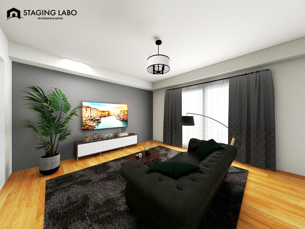 【バーチャルホームステージング】お部屋写真をキレイに撮る撮影位置の撮り方